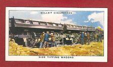 GWR GREAT WESTERN RAILWAY  Ballast Side Tipping Wagons original 1938 card
