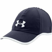 NEW UNDER ARMOUR Heat Gear Shadow Running Hat Cap men navy blue 1257748