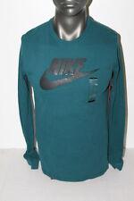 Nike FUTURA ICON LONG SLEEVE T-SHIRT GREEN/BLACK 708466-346