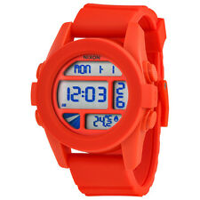 Nixon Unit Mens Digital Rubber Watch A197-383-00