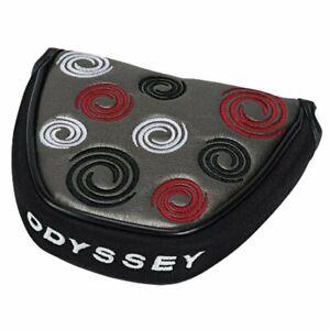 Odyssey Super Swirl Mallet Putter Head Cover - Grey