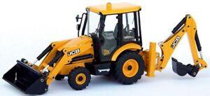 Joal 221 JCB Midi CX Sideshift Tractor Loader Backhoe 1/35 Die-cast MIB