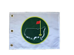 Rare New Augusta National Golf Club Members Flag Tiger Woods Jack Nicklaus PGA