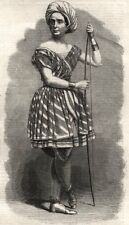 "Madame Celeste as the Arab boy in ""The French Spy"" at the Standard Theatre, 1858"