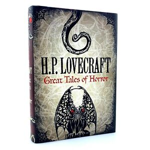 H. P. Lovecraft Great Tales of Horror | Hardcover | Call of Cthulhu | 20 Stories