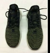 Black & Green Adidas Trainers Sz 3UK