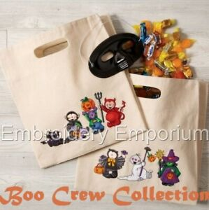 BOO CREW COLLECTION - MACHINE EMBROIDERY DESIGNS ON CD OR USB