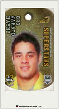 *2010 Select NRL Collectable Stars Tags Gold Tag G20 Jarryd Hayne (Eels)