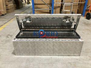Aluminium Toolbox Top Open Rectangular UTE TRUCK TRAILER Tool Box 950 x 300 x300
