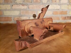 Antique Wooden Plane ~ No. 534 ~ Greenfield Tool Co Yankee plow