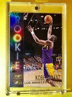 Kobe Bryant REFRACTOR ROOKIE CARD MINT RC 96-97 TOPPS STADIUM CLUB Insert #R9