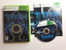 Tron: Evolution (Microsoft Xbox 360 ) Complete CIB - FAST FREE SHIPPING !!