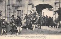 CPA 71 LES FETES DE CLUNY LOUIS IX LE COMTE GUILLAUME ET COMTE DE BETHUNE ENTRAN