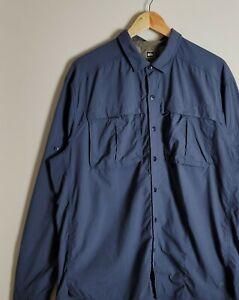 REI Men's Vented Hiking Long Sleeve Button Down Shirt Size XL Outdoor Fishing