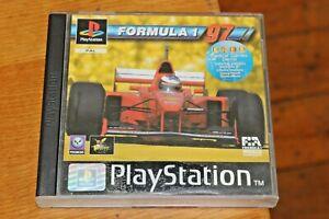 Formula 1 One 97 Original PS1 Playstation One Game & Manual PAL Motor Racing