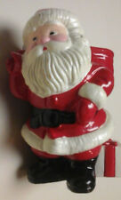 Vintage Avon 1982 Ho Ho Glow Santa Candle Holder - No Box