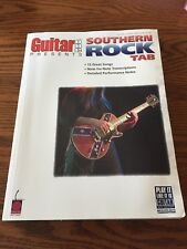 Guitar One Presents Southern Rock Tab Very Good Condition Paperback