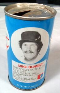 Mike Schmidt Philadelphia Phillies 1977-78 RC Cola Soda 12 oz Used Can