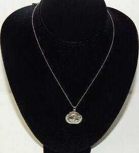 """Authentic Chanel 18KGP Faux Diamond """"CC"""" Logo 9 1/4"""" Necklace"""