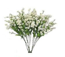 12 Cream Babys Breath Silk Bouquet Flowers Artificial Vase Fillers