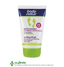 Body Natur gel Frio balsamico piernas ligeras efecto hielo 100ml pies ardientes