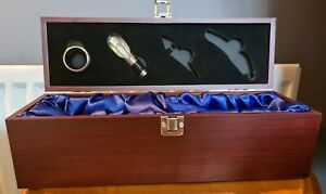 Lined Wooden Wine Box from Vintage Wine Gifts - 2 of 4 Accessories only