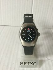 Seiko Arctura Kinetic BLACK Wrist Watch Colour Face Mid Size 3m22 3m22-0D89 New