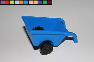 Lego Duplo - Schubkarre - blau - Supermarkt Zoo Bauernhof Baustelle