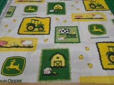 1 Yard Springs  John Deere Farm Scenes Patches  Fabric