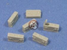 Resicast 1/35 British Besa Machine Gun Ammo Boxes WWII (3 Open,15 Closed) 352313