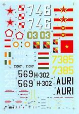 Hi Decals 1/72 MIL Mi-4 HOUND and HARBIN Z-5 Soviet Helicopters