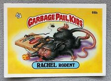 Rachel Rodent #66b Garbage Pail Kid Trading Card, Great Condition