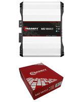 Taramps MD1800-2 Full Range 2 Ohm Amplifier Mono Car Audio 1800W