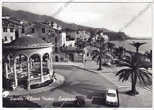 GENOVA RAPALLO 156 CHIOSCO MUSICA Cartolina FOTOGRAFICA VIAGGIATA 1962