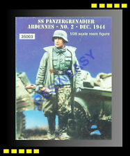 Free Shipping Warriors 1/35 WWII SS Panzergrenadier Ardennes-No.2-Dec.1944 35003