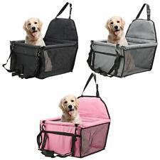 More details for folding pet dog car seat safe booster cat puppy travel carrier bed bag basket uk