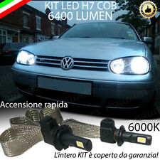 ANABBAGLIANTE A LED VW GOLF IV 4 LAMPADE LED H7 6000K NO ERROR 6400 LUMEN