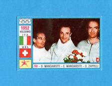 OLYMPIA-1972-PANINI-Figurina DA INCOLLARE! n.168- MANGIAROTTI+....-ITA -Rec