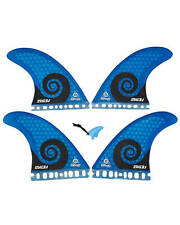 Futures Kelly Slater 3.1 Quad surfboard 4 fin fins Komunity project (LARGE) blue