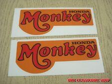New Honda Monkey Z50A Z50Z Z50 side cover sticker // 2 Pcs