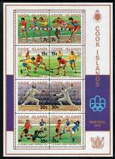COOK ISLANDS MNH 1976 SG555 Olympic Games M/S