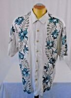 Original Island Sport Hawaiian Men's Soft Rayon Extra Large Short Sleeve Shirt