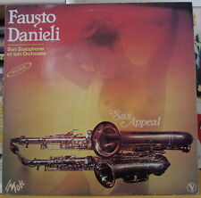 FAUSTO DANIELI SAX APPEAL SEXY NUDE COVER FRENCH LP MODE 1980