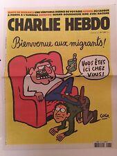 Charlie Hebdo N*1207 Du 9 Septembre 2015 NEUF Charb Cabu Wolinski Tignous