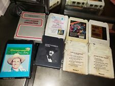 Lot of 8 Tracks (7) Marty Robbins, Texas Tyler, Best of Eddie Arnold & More