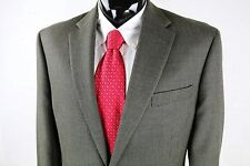 LAUREN RALPH LAUREN (44L) Mens Brown Houndstooth Wool Sport Coat