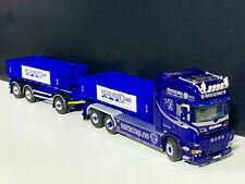 """Scania riged combi hooklift+hooklift container""""Norscrap""""WSI truck models 01-2853"""