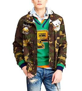 Polo Ralph Lauren Camo Camouflage Japan Tiger Nylon Field Jacket Size L $848