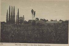 Argentina San Juan Vitivinicola ViÑA Vieja Y Bodega A806 Peuser