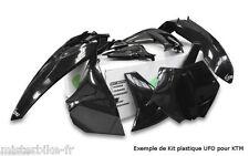 Kit plastiques UFO HONDA CRF250R 10 / CRF450R 09-10  couleur Noir HIOTKIT113E00